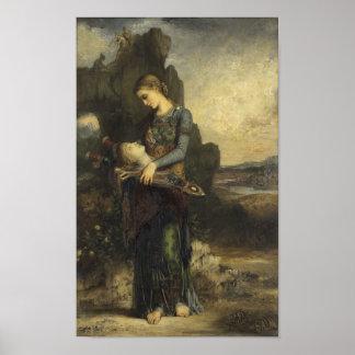 Orfeo de Gustave Moreau Póster