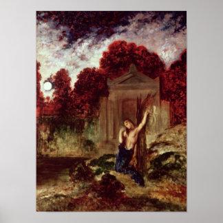 Orfeo en la tumba de Eurydice Impresiones