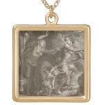 Orfeo, Eurydice principal fuera del infierno, mira Colgante Cuadrado