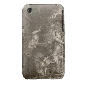 Orfeo, Eurydice principal fuera del infierno, mira iPhone 3 Case-Mate Fundas