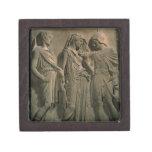 Orfeo, Eurydice y Hermes (mármol) Caja De Recuerdo De Calidad