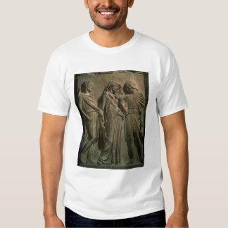 Orfeo, Eurydice y Hermes (mármol) Playera