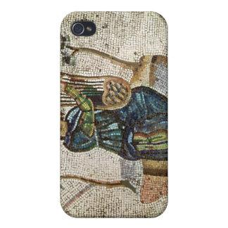 Orfeo que encanta los animales iPhone 4 cárcasa