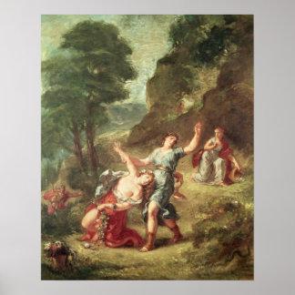 Orfeo y Eurydice, primavera Impresiones