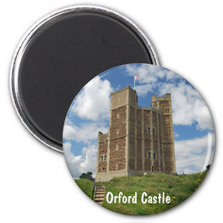 Orford Castle 2 Inch Round Magnet