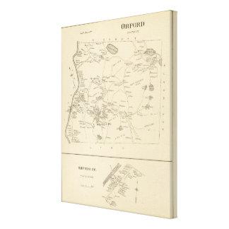 Orford, Grafton Co Impresión En Lienzo