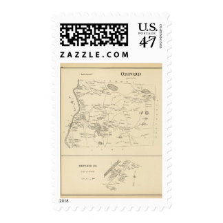 Orford, Grafton Co Sello Postal