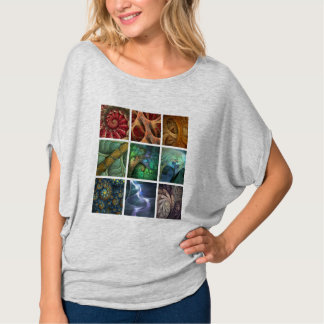 """Orgaenica"" Fractal Polyptych Women's Top"