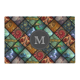 """""""Orgaenica"""" Monogrammed Placemat"""