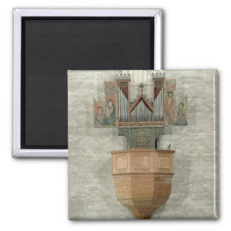 Organ, 1390 2 inch square magnet
