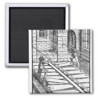 Organ Bellows and Blowers 2 Inch Square Magnet