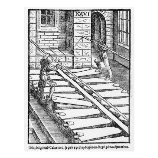Organ Bellows and Blowers Postcard
