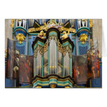 Organ, Breda, Netherlands greeting card