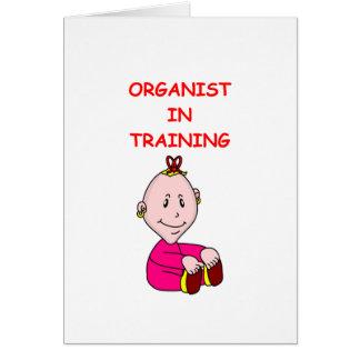 ORGAN GREETING CARDS