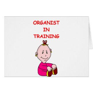 ORGAN CARDS
