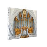 Organ console canvas prints