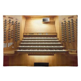 Organ console, Shanghai Placemat