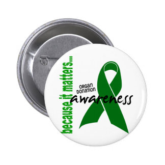 Organ Donation Awareness 2 Inch Round Button