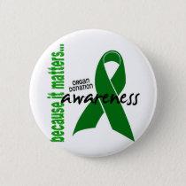Organ Donation Awareness Button