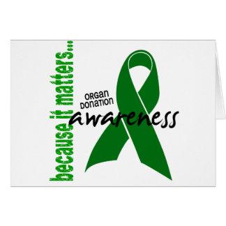 Organ Donation Awareness Greeting Cards