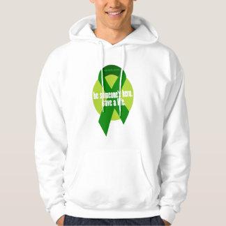 Organ Donation Awareness Hooded Sweatshirt