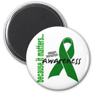Organ Donation Awareness Magnet