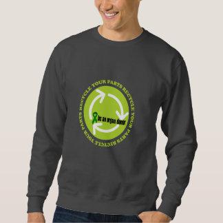Organ Donation Awareness Sweatshirt