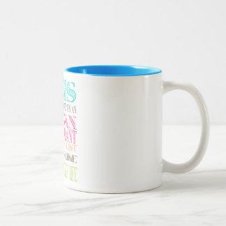 Organ donation awareness Two-Tone coffee mug