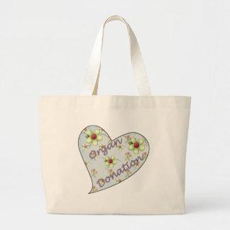 Organ Donation Tote Bag