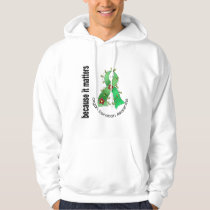 Organ Donation Flower Ribbon Hoodie