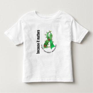 Organ Donation Flower Ribbon Toddler T-shirt