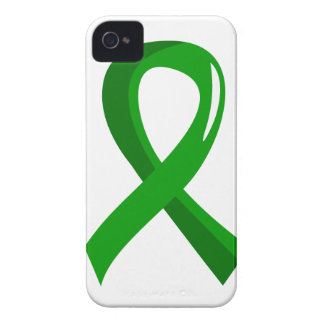 Organ Donation Green Ribbon 3 Case-Mate iPhone 4 Case