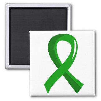 Organ Donation Green Ribbon 3 Refrigerator Magnet