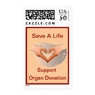 Organ Donation Heart Transplant Postage Stamp