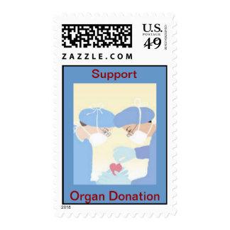 Organ Donation Heart Transplant Postage Stamp
