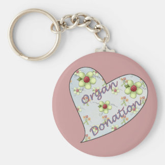 Organ Donation Keychain