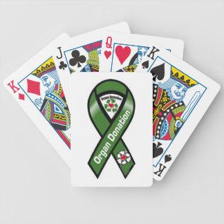 Organ Donation Playing Cards