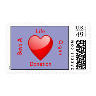 Organ Donation Postage Stamp