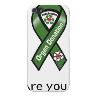 Organ Donation Supporter Case For iPhone SE/5/5s