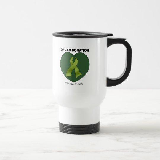 Organ Donation: The Gift Of Life Travel Mug