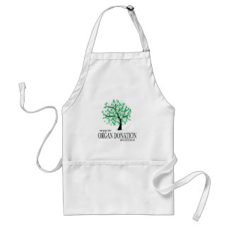 Organ Donation Tree Adult Apron