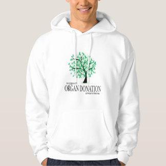 Organ Donation Tree Hoodie