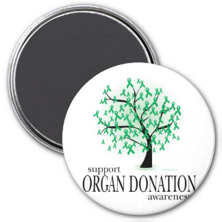 Organ Donation Tree Magnet