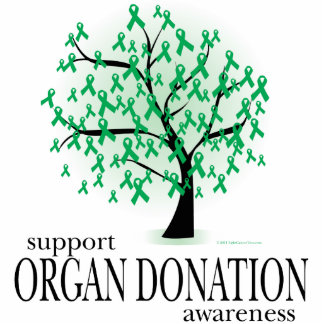 Organ Donation Tree Cut Outs