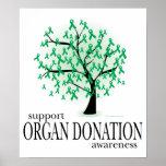 Organ Donation Tree Poster