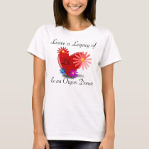 Organ Donation Women's T-Shirt