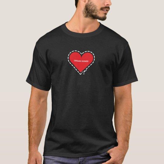 Organ Donee Basic Dark T-Shirt