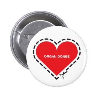 Organ Donee Button