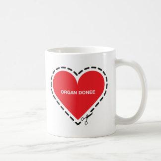 Organ Donee Cup Coffee Mug