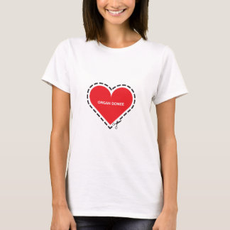 Organ Donee Women's Fitted T-shirt